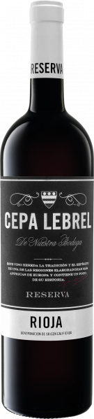 Rioja Reserva 2010, Cepa Lebrel