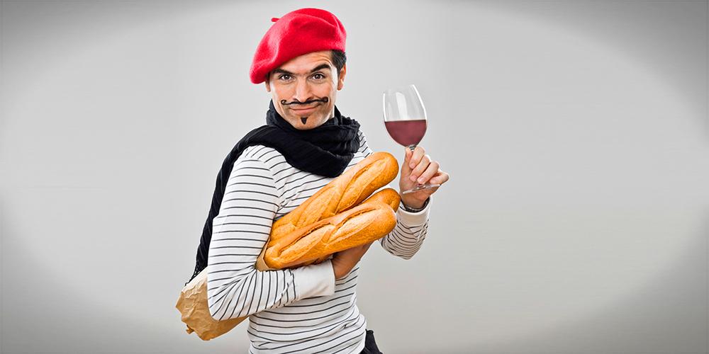 Ein typischer Franzose