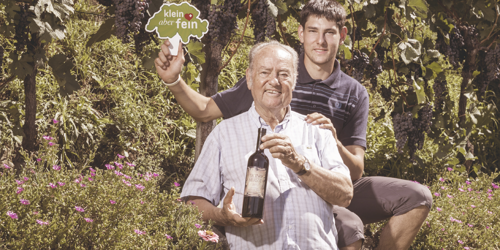 Der Klein-aber-fein Wein