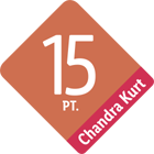 Chandra Kurt Ranking 15 Punkte