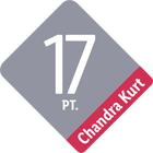 Chandra Kurt Ranking 17 Punkte